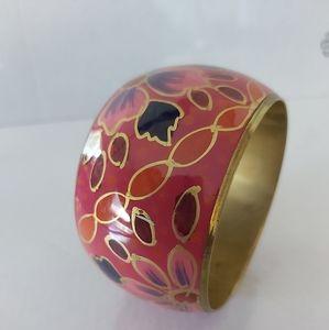 Chic Bracelet (Floral and Golden)
